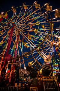 National Cherry Festival Amusement Rides Ferris Wheel