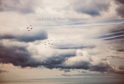 National Cherry Festival Air Show in Traverse City, Michigan