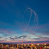 Traverse City Air Show at Night