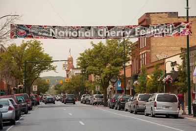 National Cherry Festival in Downtown Traverse City on Front Street