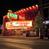 State Theater at Night in Downtown Traverse City