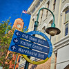 Downtown Traverse City Directional Sign