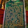 City Opera House Plaque in Traverse City, Michigan