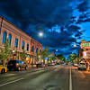 Front Street in Downtown Traverse City, Michigan