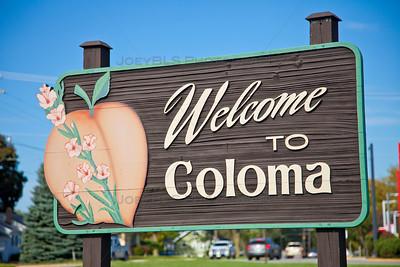Welcome to Coloma, Michigan
