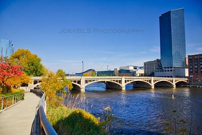 Fall in Downtown Grand Rapids, Michigan
