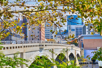 Fall in Downtown Grand Rapids, Michigan