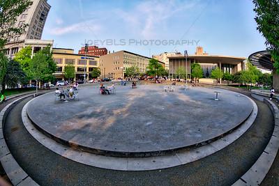 Downtown Grand Rapids, Michigan Plaza