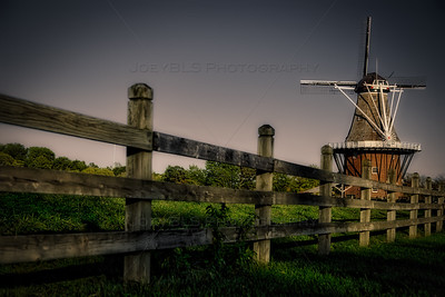 Dutch Windmill in Holland, Michigan