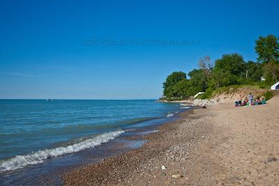 Beaches of Lake Michigan in Michiana, Michigan