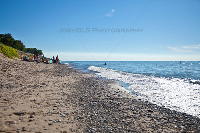 Beaches of Lake Michigan in Michiana, Michigan