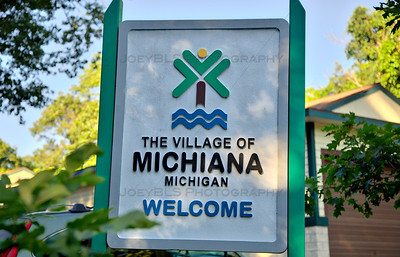 Michiana, Michigan Welcome Sign