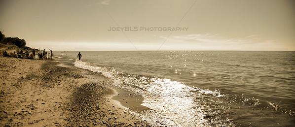 Golden Beaches of Lake Michigan in Michiana, Michigan
