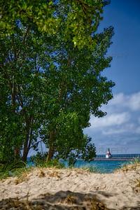 The St Joseph, Michigan Lighthouse