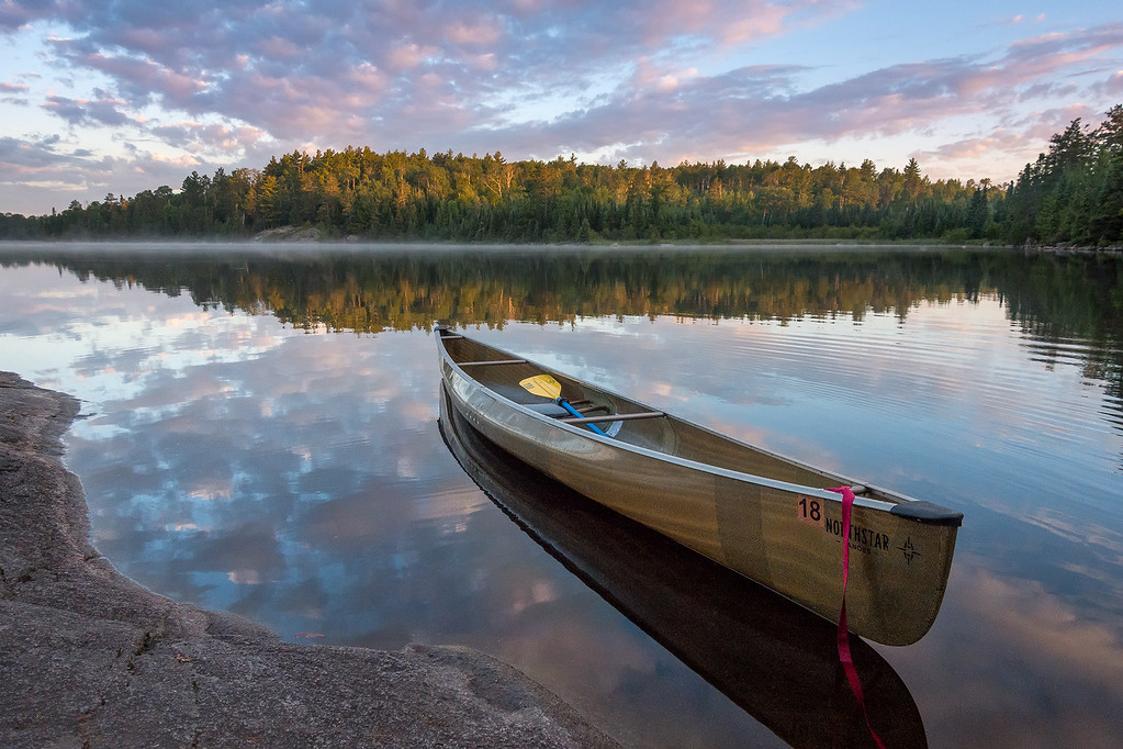 Bwca gull lake sunrise xl