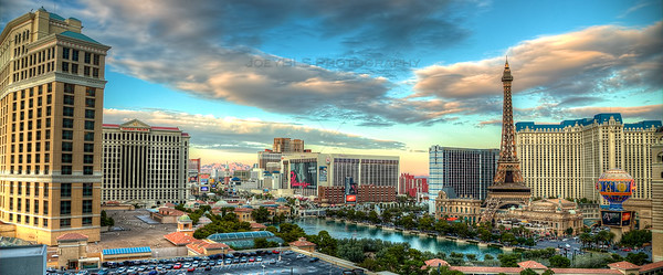 Las Vegas Skyline from Cosmopolitan