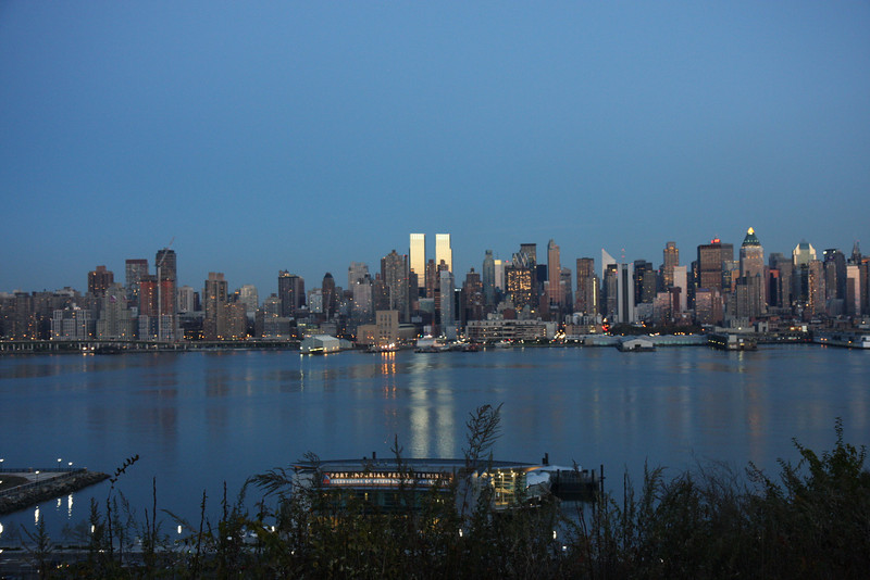 View of New York from New Jersey
