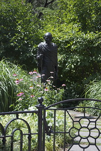 Statue of Gandhi in Union Square, NYC