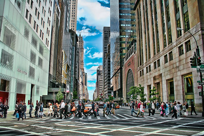 5th Avenue in New York City