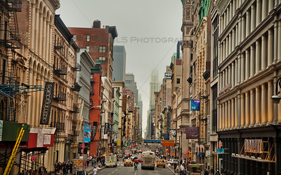 The Shopping District in SoHo, New York City