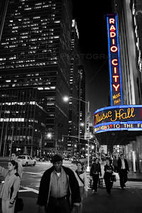 Radio City Music Hall in NYC, circa May 2006.