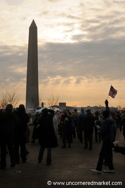 Early Morning on Inauguration Day - Washington DC, USA