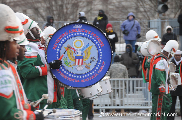 An Inauguration Drum - Washington DC, USA