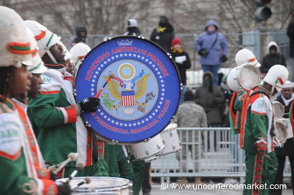 An Inauguration Drum - Washington DC, USA