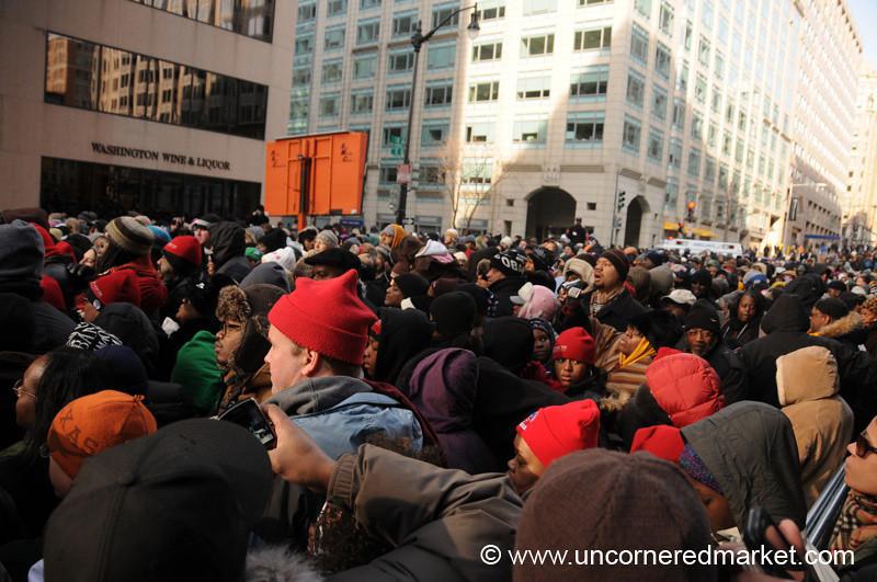 Inauguration Crowds - Washington DC, USA