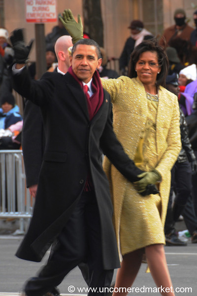 The Obamas - Washington DC, USA