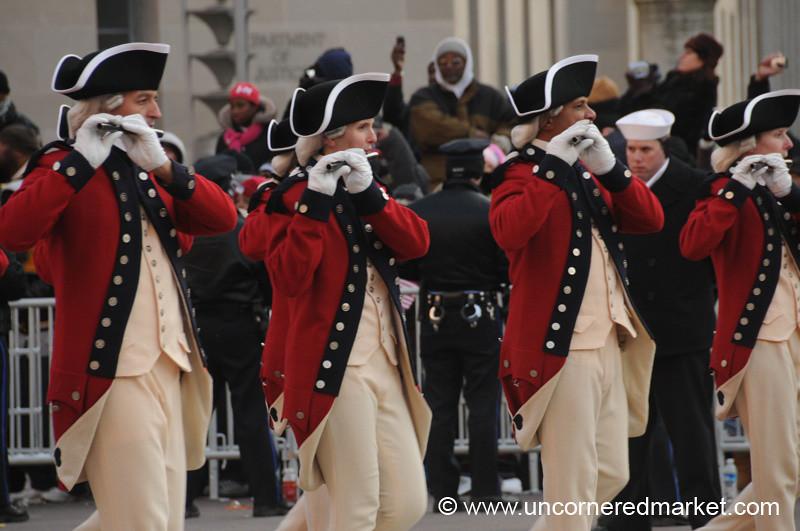 Musicians at the Parade - Washington DC, USA