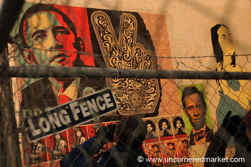Obama Graffiti - Washington DC, USA