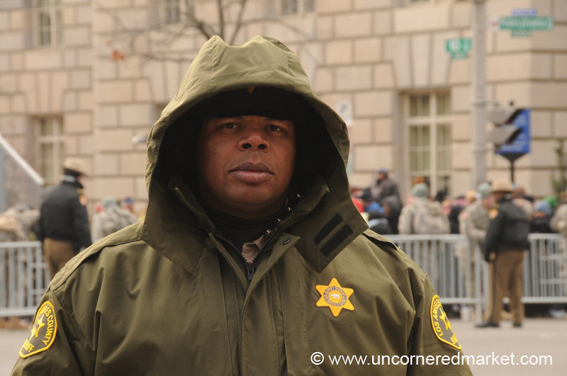 Los Angeles County Sheriff Officer - Washington DC, USA