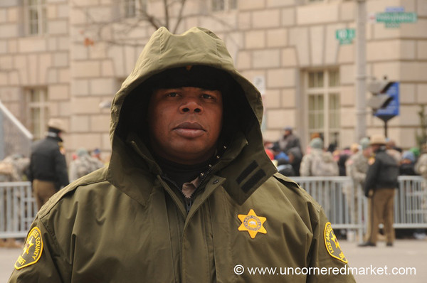 Los Angeles County Sheriff Officer - Washington DC, USA