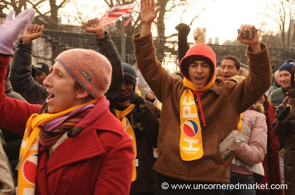 Happy People, Obama Inauguration - Washington DC, USA
