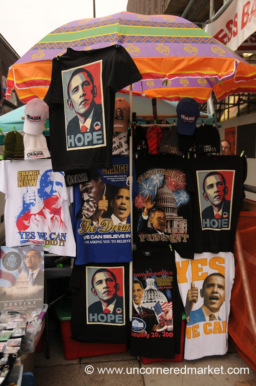 Obama Shirts, Inauguration - Washington DC, USA