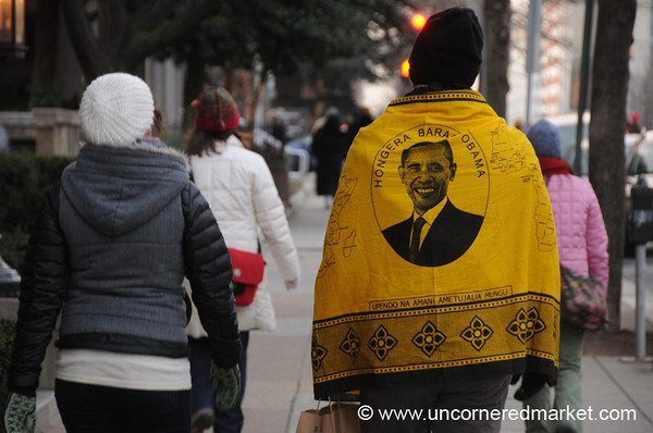 African Obama Cloth - Washington DC, USA