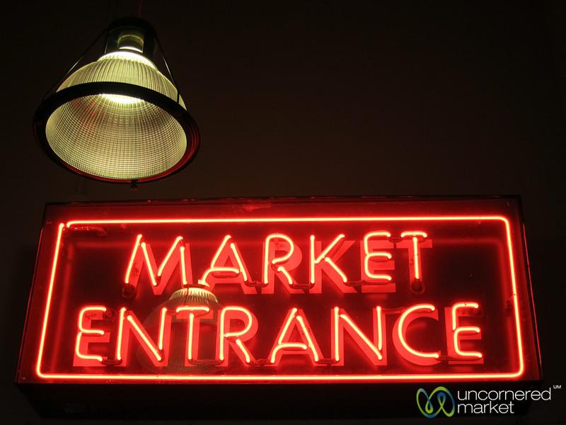 Pike Place Market Entrance - Seattle