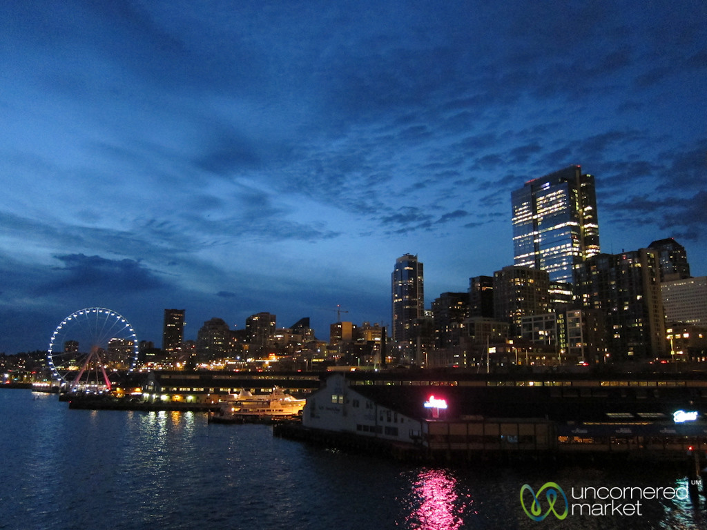 Seattle Skyline at Night