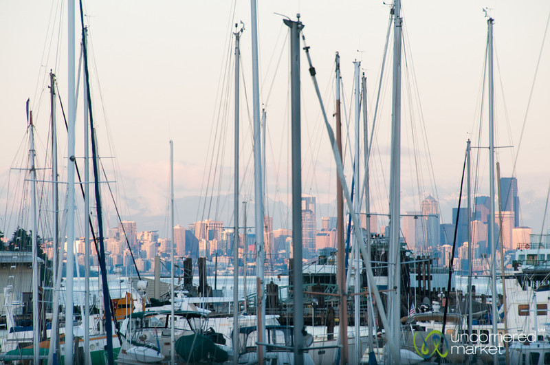 Bainbridge Island Harbor and Yachts - Seattle, Washington