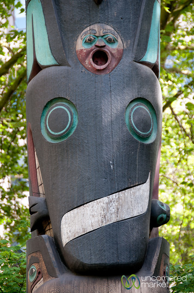 Totem Pole in Downtown Seattle