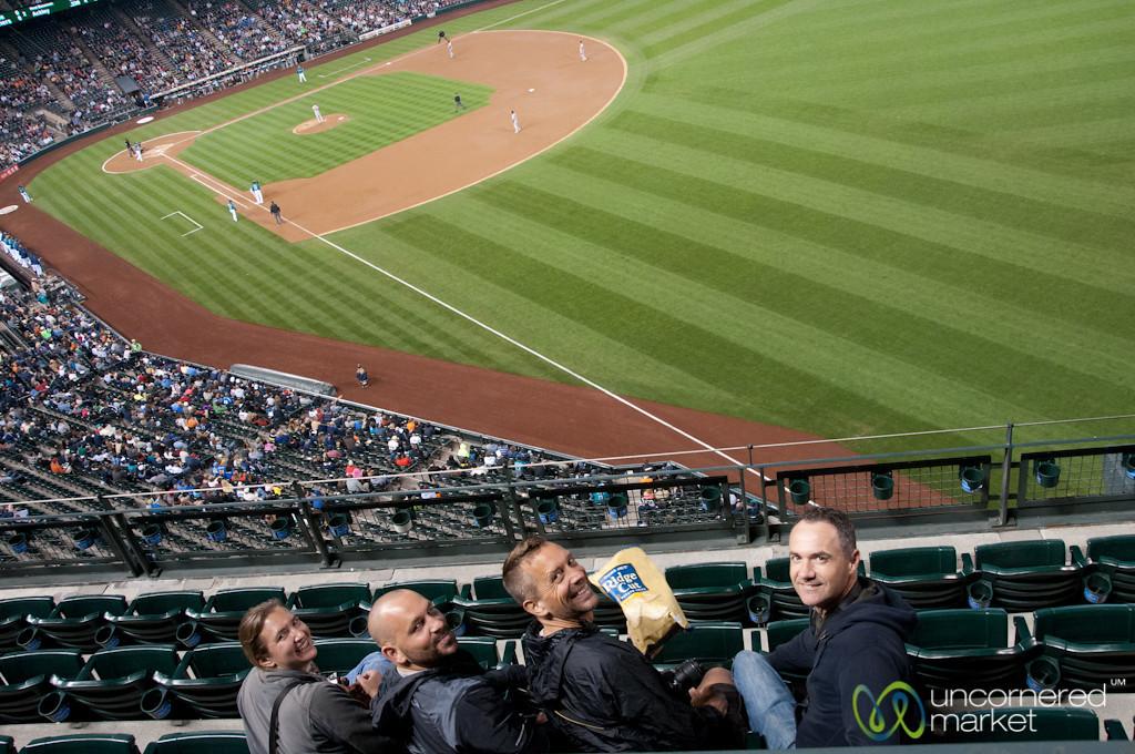 Mariner's Baseball Game with Friends - Seattle, Washington