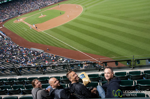 Mariner's Baseball Game with Friends - Seattle, Washington