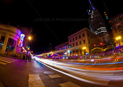 Downtown Nashville, Tennessee in Broadway - Bar Scene
