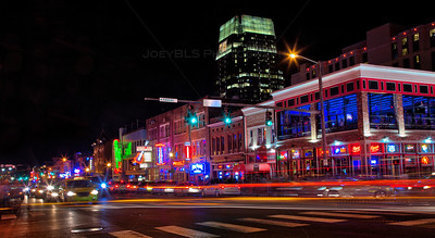 Downtown Nashville Lights - Nash Vegas