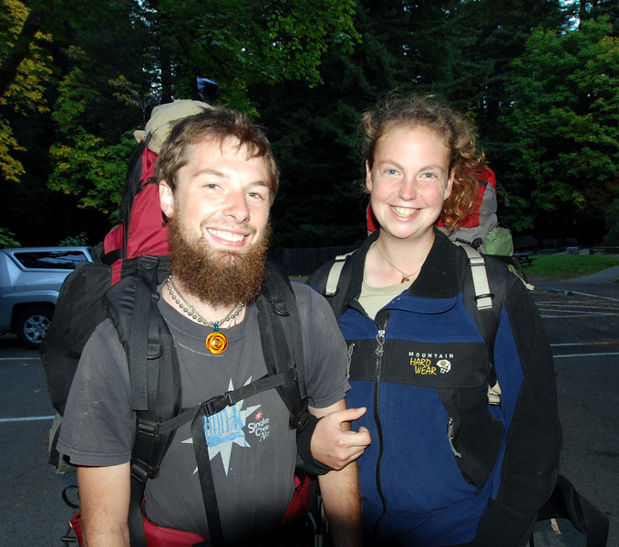Tristan and Adrienne are two capable backpackers making their way across the USA