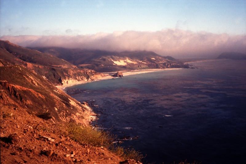 Big Sur Coastline of California - United States