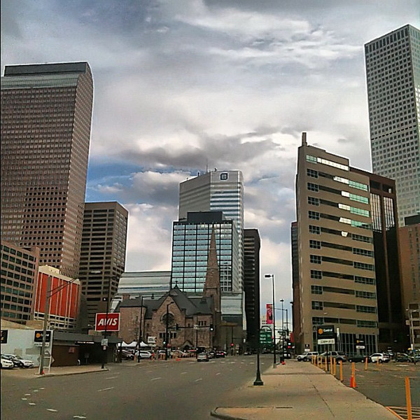 Downtown mile high #Denver #Colorado #BrewCrawl12