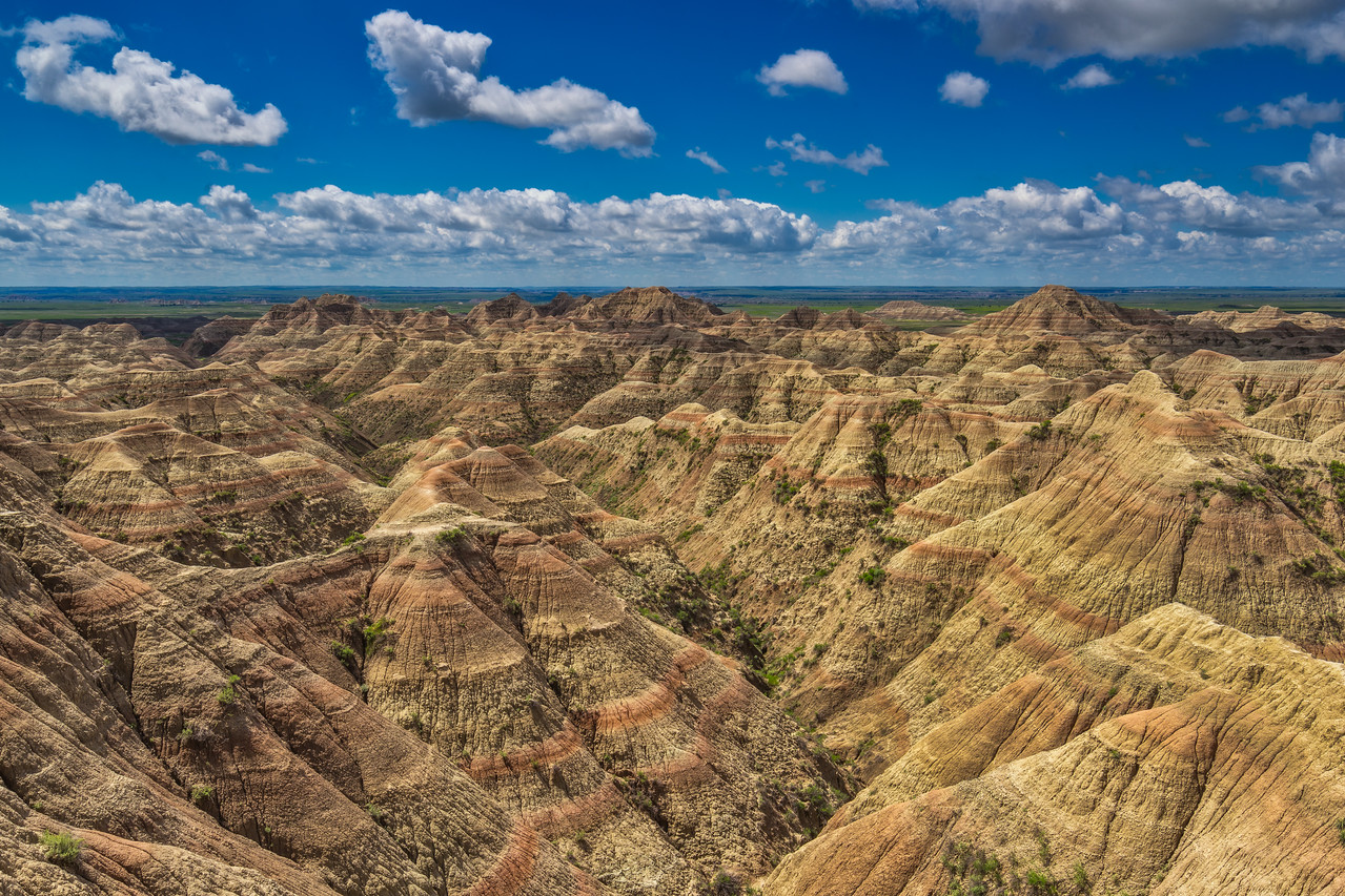 The Badlands of South Dakota are beautiful in every direction.