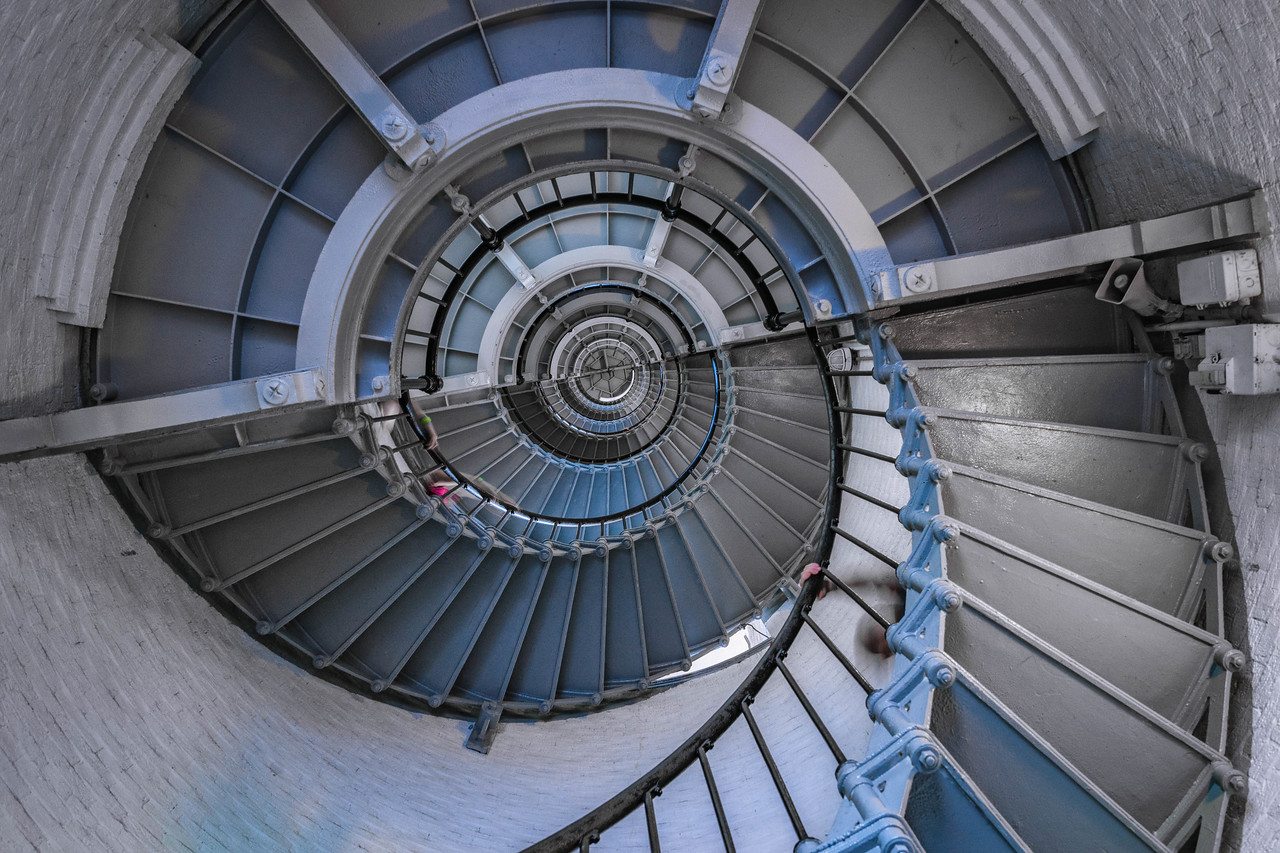Spiral Stairs in Daytona Beach, USA